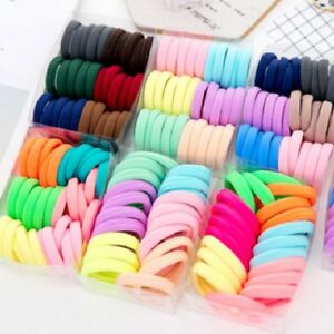 50-100x-Women-Girls-Hair-Band-Ties-Rope-Ring-Elastic-Hairband-Ponytail-Holder