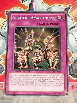 OCCASION Carte Yu Gi Oh TIGRESSE AMAZONESSE GLD3-FR008