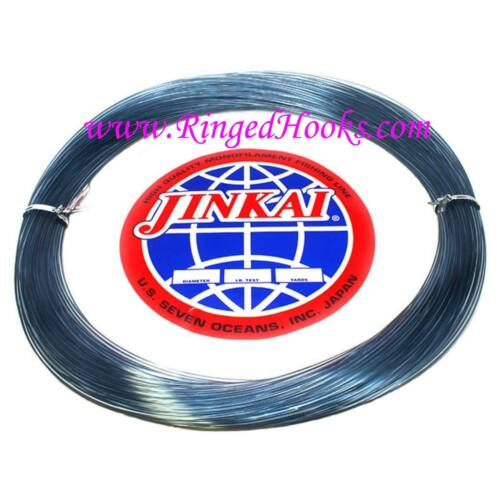 50 yd Jinkai Monofiliment leader Test 2.65 mm Dia. BLUE 700 lb Coil