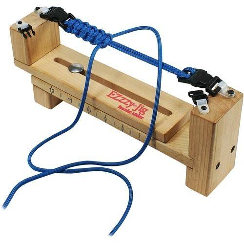 Pepperell Parachute Cord Ezzy-Jig Bracelet Maker - 054449