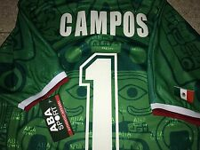 MEXICO 1988   CAMPOS WC 98 , AUTHENTIC SHIRT ABA SPORT L