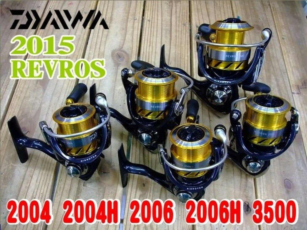 Daiwa Spinning Reel 15 New model REVROS series 1000  4000 New FS from Japan