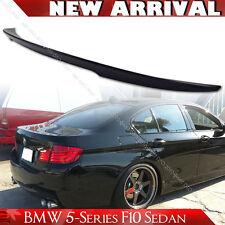 SHIP FROM LA Unpaint BMW 5-Series F10 Sedan High Kick P Style Trunk Spoiler 528i