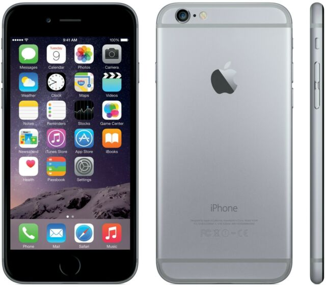 Apple iPhone 6S Space Grey 16GB
