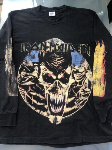 vintage iron maiden shirt