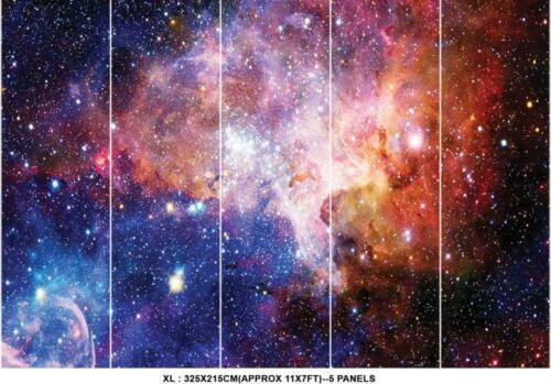 Space Galaxy Stars Planets Wallpaper Mural Photo Kids Bedroom Home Poster Deco