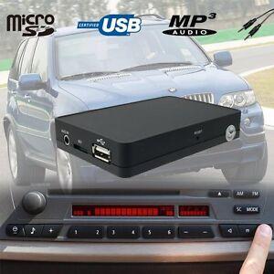 car usb sd aux mp3 adapter car kit bmw x3 e83 x5 e53. Black Bedroom Furniture Sets. Home Design Ideas