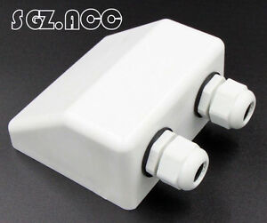 Waterproof Double Cable Entry Gland for Motorhomes Campers Caravans Boat