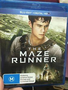 The-Maze-Runner-ex-rental-BLU-RAY-2014-sci-fi-adventure-movie