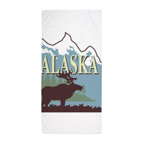 1676007621 CafePress Alaska Beach Towel