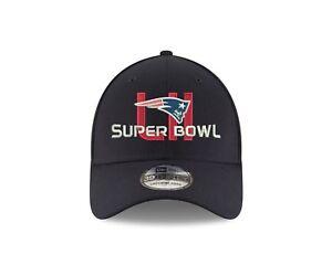 372ea3e1 Details about New England Patriots New Era Super Bowl LII 39thirty Flex Fit  Hat