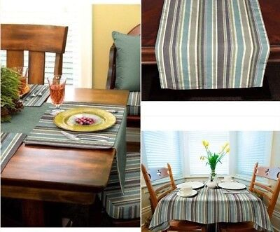 Sunbrella-Outdoor-Tablecloth-Tablerunner-or-placemats-BRANNON-WHISPER