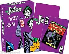 Joker Classic Art Playing Cards DC Comics Batman Retro Card Deck New Sealed Mint