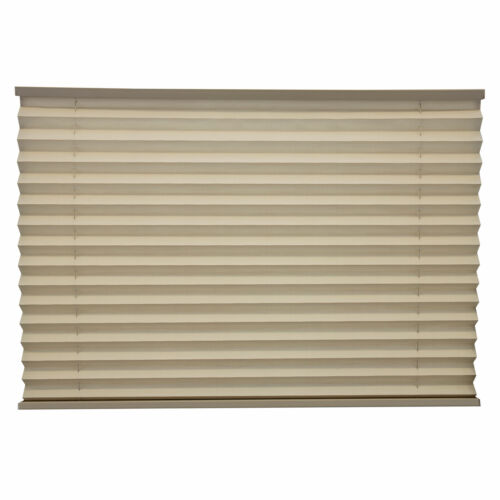 """RV Camper Pleated Blind Shades Cappuccino 26/"""" X 24/"""""""