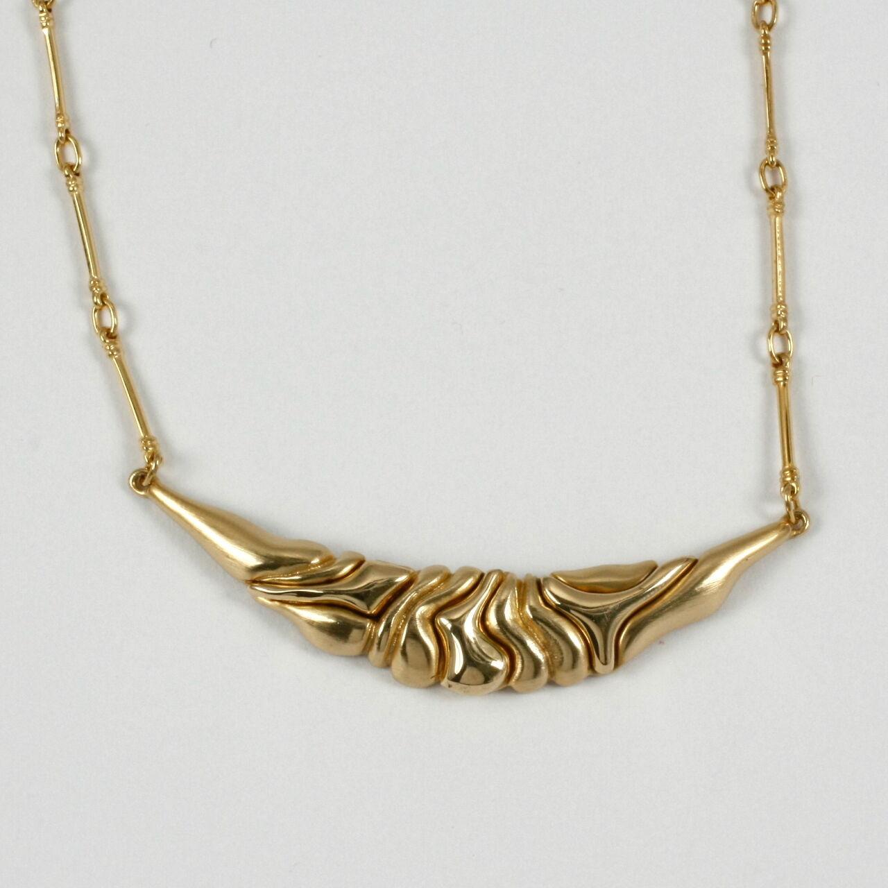 Splendido Splendido Splendido collier in 333 oro nel  finlandese stile  945ed7