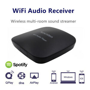 Details about Wifi Audio Receiver P7 Wireless Music Player Audiocast  Adapter Airmusic Airplay