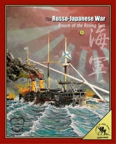 CLASH OF ARMS - BOARD WARGAME - THE RUSSO-JAPANESE WAR, UNBOXED