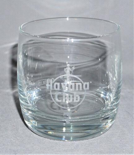 4cl Klar Spirituosen NEU H a v a n a  C l u b 7 Anos Jahre Rum Glas Tumbler 2cl
