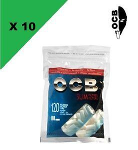 Filtres-OCB-Slim-lot-de-10-sachets-de-150-Filtres-6-MM