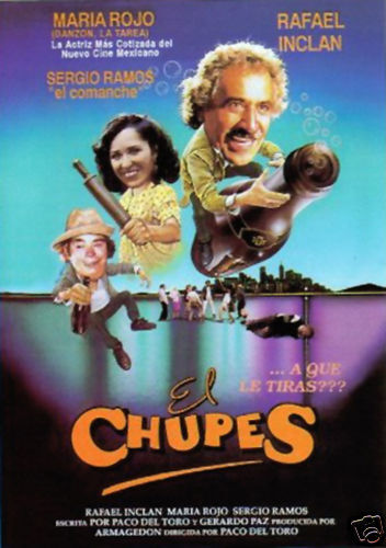 EL CHUPES (ARMAGEDON FILMS) RAFAEL INCLAN NEW DVD