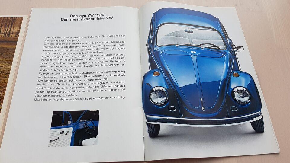 brochure, vw