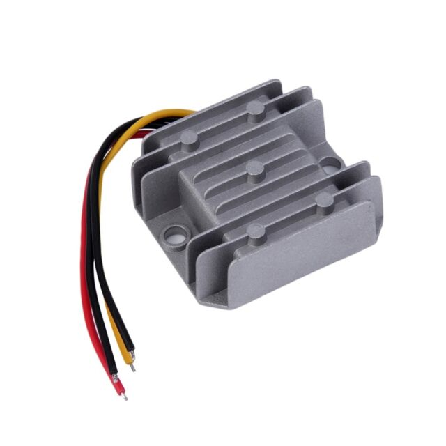 Waterproof DC/DC Voltage Converter Regulator 24V Step Down to 12V 5A Adaptor BB