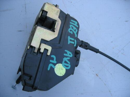 mecanisme de serrure de porte avant droit de RENAULT megane 2