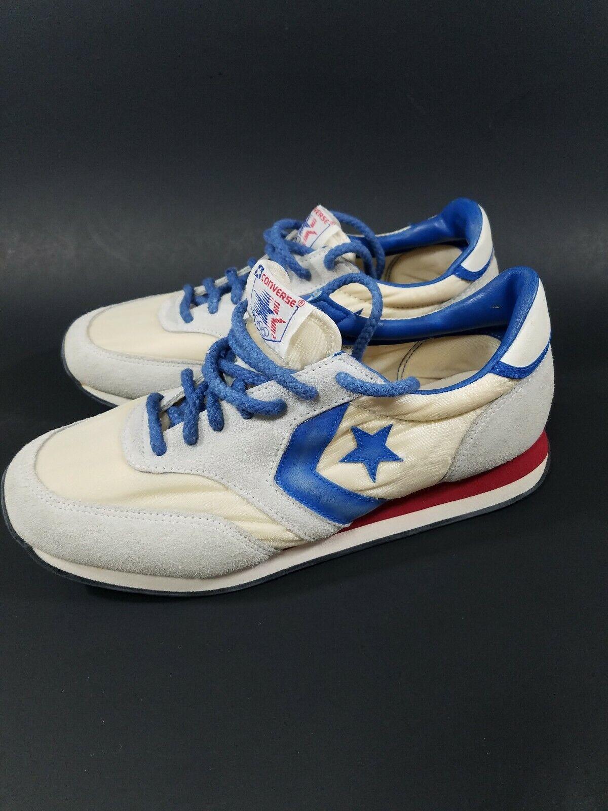 NICE VINTAGE 1980 OLYMPICS CONVERSE LOS ANGELES OLYMPICS WOMANS Dimensione 7 scarpe