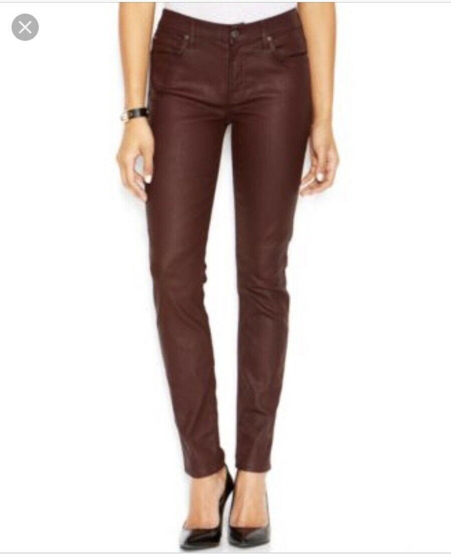 New Women's 7 For All Mankind Mid-Rise Super Skinny Ankle Pant Jeans size 29 NWT