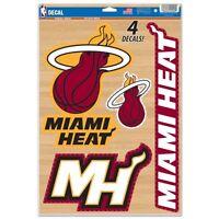Miami Heat Multi Use Decal Set