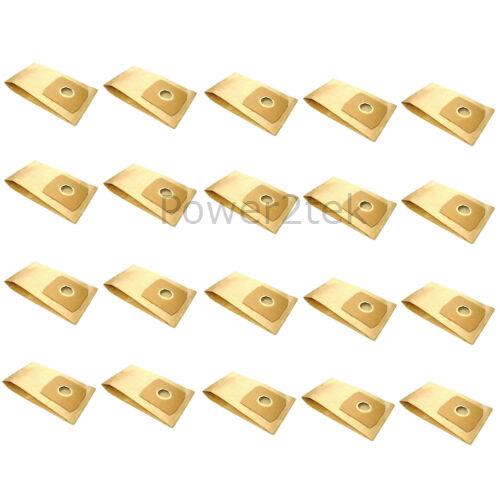 20 x VCB300 RCN500 hoover sacs pour daewoo RC350 RC350BK RC350BK//N uk RCN400B
