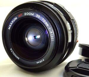 Minolta-Maxxum-35-70mm-f4-AF-Lens-Sony-A-mount-constant-f4-0-aperture-zoom