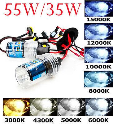 One Pair 35W/55W XENON HID REPLACEMENT BULBS LAMP H1 H3 H4 H7 H8 H9 H10 H11 9005