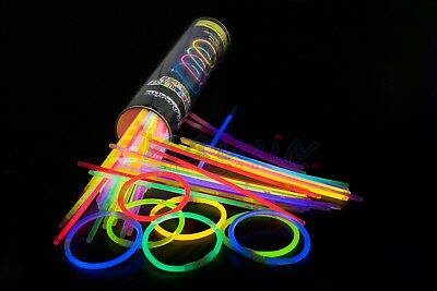 Pulseras Luminosas 1000 Piezas Fluorescentes Para Fiesta Glow Stick