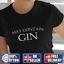 MAY CONTAIN GIN Womens Funny T-Shirts Slogan Printed T Shirt Ladies Top UK