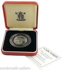 CAPE VERDE 200 ESCUDOS 1995 PF Silver = F.A.O - WATER = Mint Box/CoA