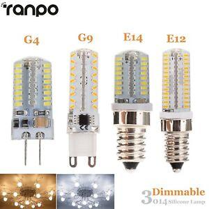 variation g9 g4 e12 e14 ampoule led silicone ma s lampe 5w 7w 10w 3014 smd ebay. Black Bedroom Furniture Sets. Home Design Ideas