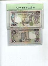 B127 # MALAYSIA 1986 $20 TG 1864776 SGN BY D. JAFFAR * UNC