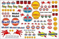 Waterslide Transfers 1:10 1:18 1:32 1:72 Scale RC Slotcar Scalextric Model Decal
