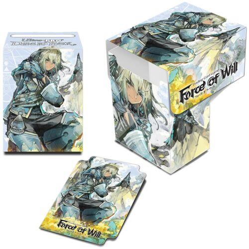 Ultra Pro FORCE OF WILL SOLID DECK BOX PORTA MAZZO FOW ALICE VALENTINA ARLA NEW