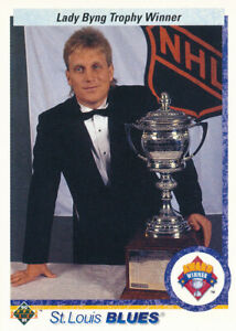 Brett Hull 1990-91 Upper Deck #203 St. Louis Blues Hockey Card