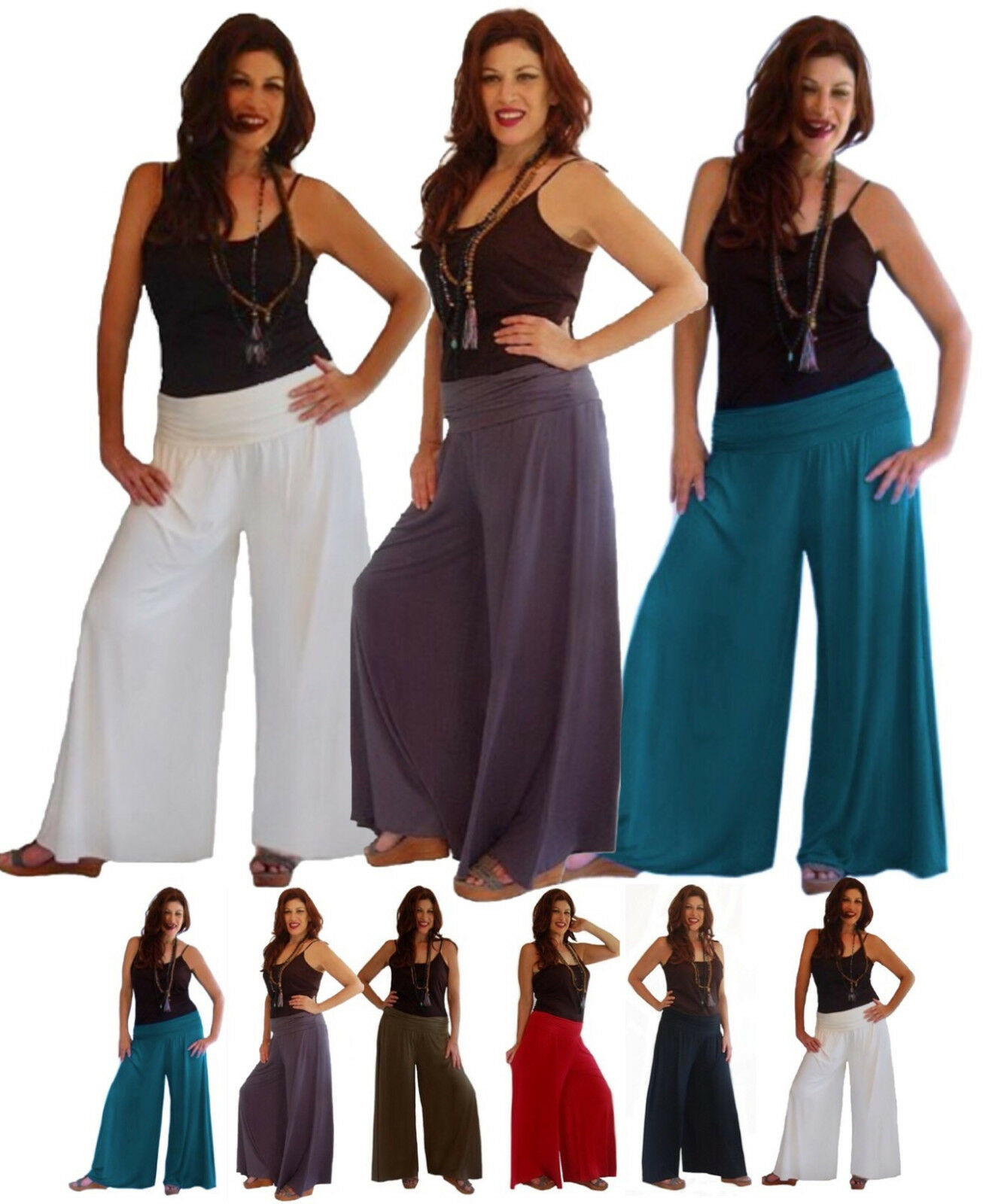 PANT GAUCHOS SPANDEX FASHION LotusTraders MADE TO ORDER PLUS CLOTHING I636