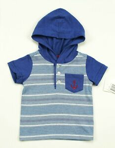 KIDS-HEADQUARTERS-INFANT-BOYS-ANCHOR-BLUE-STRIPED-HOODED-TOP-18M