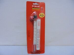 New-Vintage-Pyrex-Accessories-Candy-Deep-Fry-Thermometer-Sealed-16428
