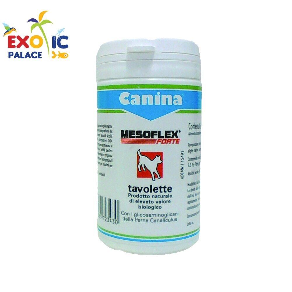CANINA CANINA CANINA MESOFLEX FORTE TAVOLETTE PER CANE INTEGRATORE CURA ARTICOLAZIONI ARTROSI 8c0e73