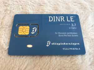 Avid-DigiDesign-DINR-LE-Plug-In-iLok-Activation-Card-No-Transfer-Fee