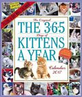 The 365 Kittens-a-year Wall Calendar 2017 by Workman Publishing.