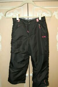GIRLS SIZE 6//6X INSULATED WINTER SNOW//SKI PANTS PINK by CHAMPION BRAND NEW!