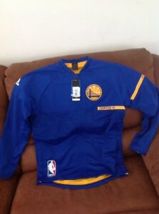 superior quality 2d4ba 8820d Details about adidas golden state warriors warm up nba champion X4 jacket  NWT size m mens