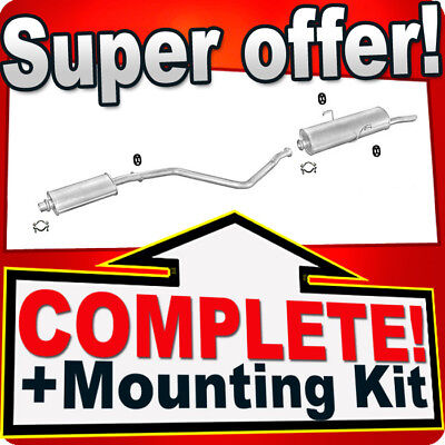 mounting kit PEUGEOT 306 1.4 1.6 1.8 1.9 Saloon Estate Exhaust Central Silencer